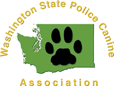 W.S.P.C.A. | Washington State Police Canine Association Logo